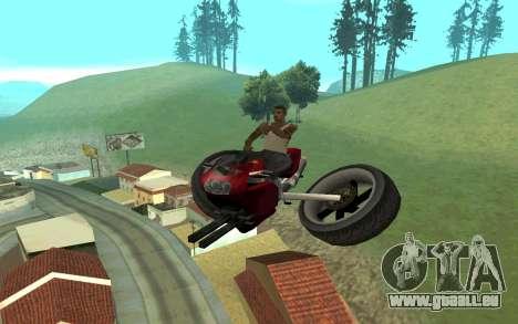 FCR HF pour GTA San Andreas laissé vue