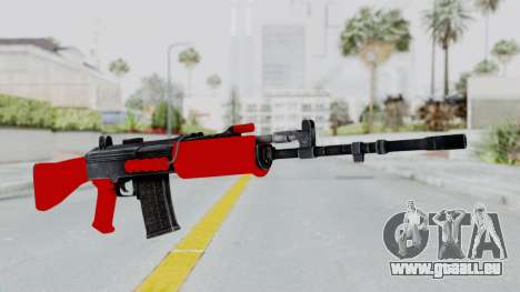 IOFB INSAS Red pour GTA San Andreas