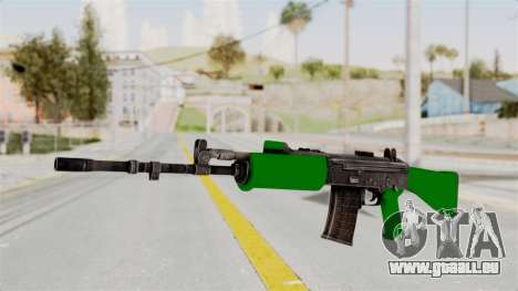 IOFB INSAS Dark Green pour GTA San Andreas