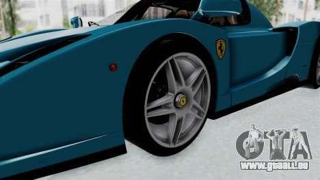 Ferrari Enzo für GTA San Andreas Rückansicht