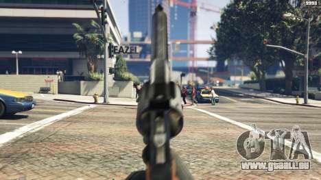 GTA 5 Python .357 Magnum CT6 sechster Screenshot