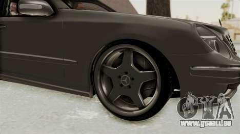 Mercedes-Benz E320 für GTA San Andreas Rückansicht