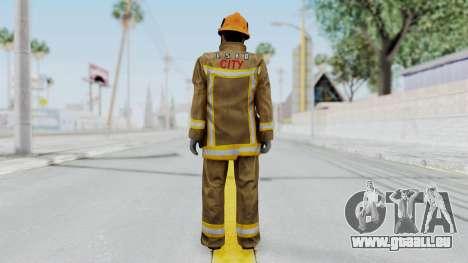 GTA 5 Fireman LS für GTA San Andreas dritten Screenshot