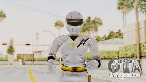 Alien Rangers - White für GTA San Andreas