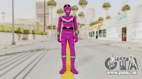 Power Rangers Time Force - Pink für GTA San Andreas zweiten Screenshot