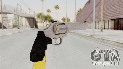 Colt .357 Silver pour GTA San Andreas deuxième écran