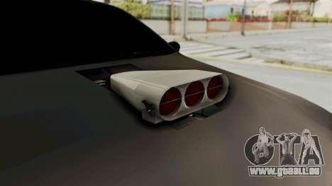 Nissan Maxima Tuning v1.0 pour GTA San Andreas vue intérieure
