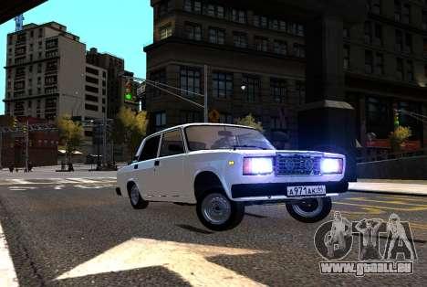 VAZ 2107 AzElow für GTA 4