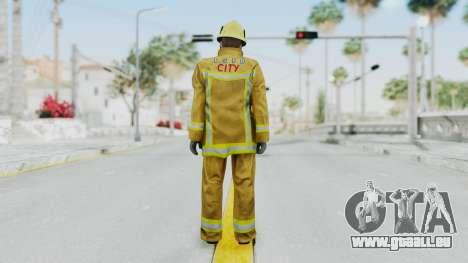 GTA 5 Fireman LV für GTA San Andreas dritten Screenshot