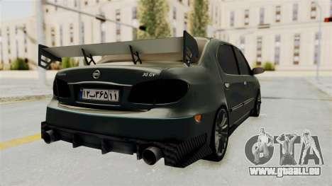 Nissan Maxima Tuning v1.0 pour GTA San Andreas sur la vue arrière gauche