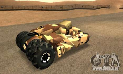 Army Tumbler Rocket Launcher from TDKR für GTA San Andreas Motor