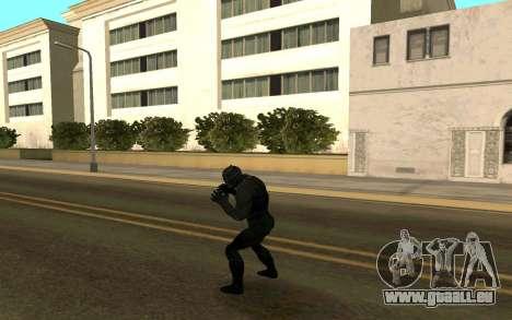 Black Panther confrontation pour GTA San Andreas troisième écran