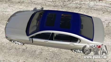 GTA 5 BMW 750Li xDrive (G12) 2016 Rückansicht