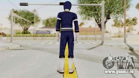 Power Rangers Turbo - Blue für GTA San Andreas dritten Screenshot