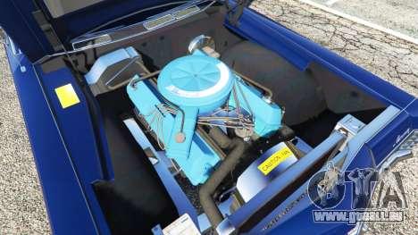GTA 5 Mercury Monterey 1972 droite vue latérale