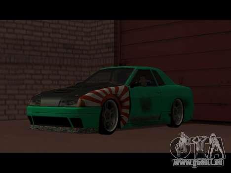 Elegy Paintjob JDM für GTA San Andreas rechten Ansicht