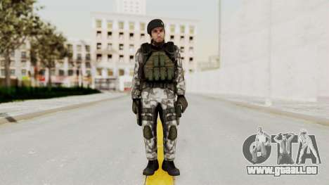 Black Mesa - HECU Marine Beret pour GTA San Andreas deuxième écran