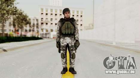 Black Mesa - HECU Marine Beret für GTA San Andreas zweiten Screenshot