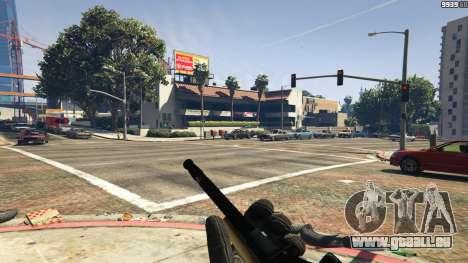 GTA 5 Steyr AUG A1 quatrième capture d'écran