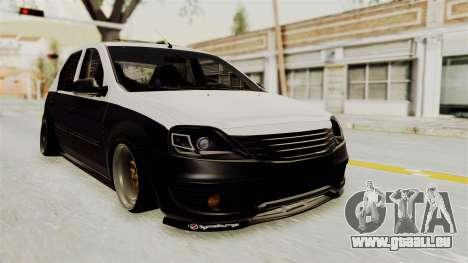 Dacia Logan Facelift Stance für GTA San Andreas