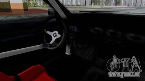 Elegy v2 pour GTA San Andreas vue arrière