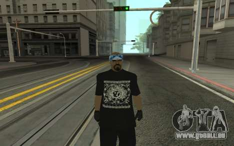 Varios Los Aztecas Gang Member pour GTA San Andreas