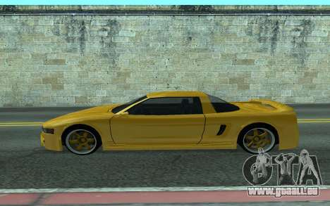BlueRay's V9 Infernus für GTA San Andreas linke Ansicht