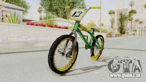 Bully SE - BMX pour GTA San Andreas vue de droite