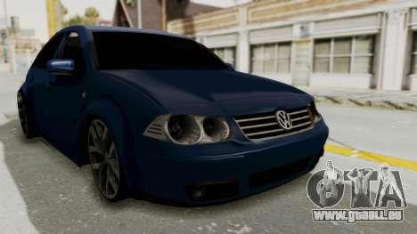 Volkswagen Bora 1.8T pour GTA San Andreas vue de droite