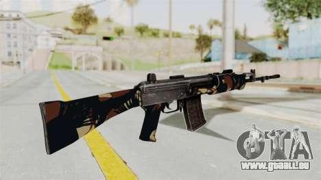 IOFB INSAS Camo v2 für GTA San Andreas zweiten Screenshot