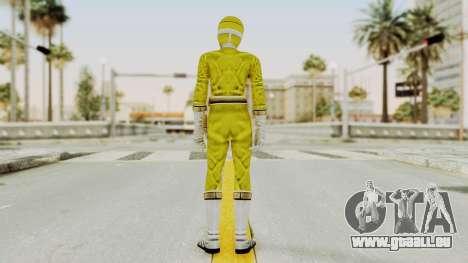 Power Rangers Lightspeed Rescue - Yellow pour GTA San Andreas troisième écran