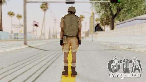 MGSV Phantom Pain CFA Vest v1 für GTA San Andreas dritten Screenshot