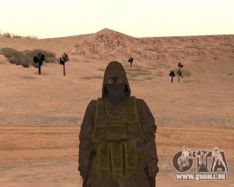 Soviet Sniper pour GTA San Andreas sixième écran