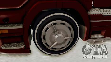 Scania R730 pour GTA San Andreas vue arrière