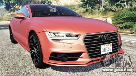 Audi A7 2015 für GTA 5