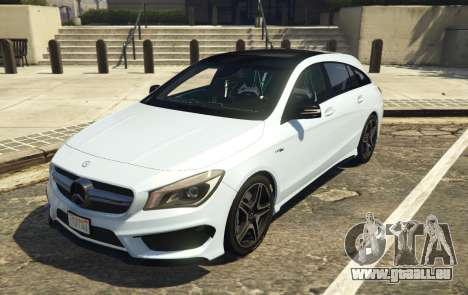 Mercedes-Benz CLA 45 AMG Shooting Brake für GTA 5