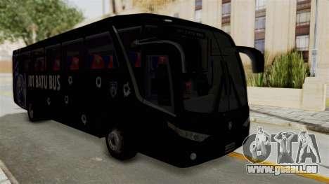 Marcopolo JDT Batu Bus pour GTA San Andreas vue de droite