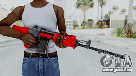 IOFB INSAS Red pour GTA San Andreas troisième écran