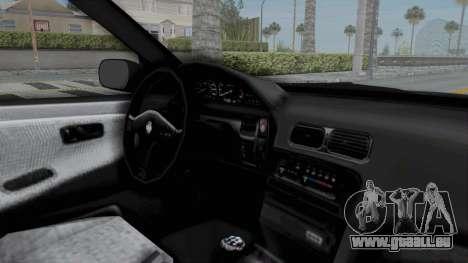 Nissan Sileighty Rocket Bunny pour GTA San Andreas vue intérieure