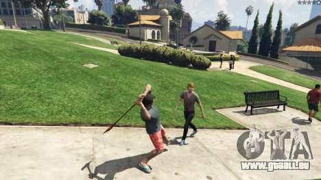 GTA 5 Weapon Variety 0.9 cinquième capture d'écran