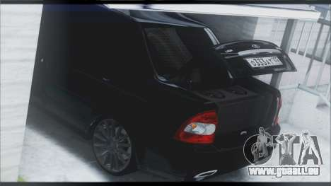 Lada Priora Sedan pour GTA San Andreas salon