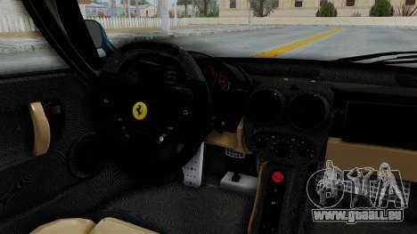 Ferrari Enzo für GTA San Andreas Innenansicht