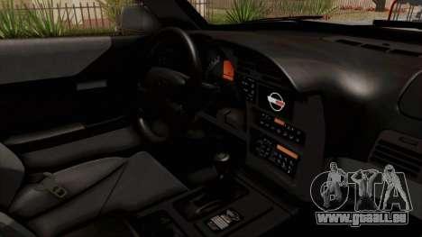 Chevrolet Corvette C4 Monster Truck pour GTA San Andreas vue intérieure