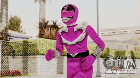 Power Rangers Time Force - Pink für GTA San Andreas