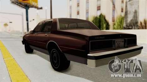 Chevrolet Caprice 1987 v1.0 für GTA San Andreas linke Ansicht