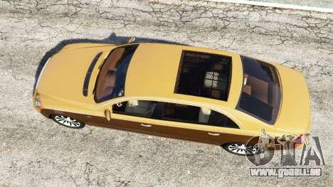 GTA 5 Maybach 62 S vue arrière