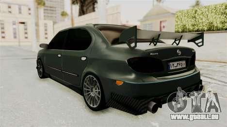 Nissan Maxima Tuning v1.0 pour GTA San Andreas laissé vue