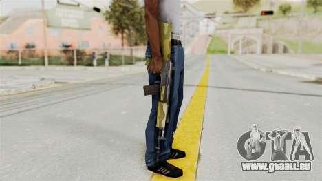 IOFB INSAS Camo v1 pour GTA San Andreas troisième écran