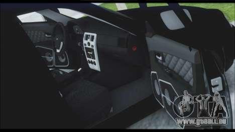 Lada Priora Sedan pour GTA San Andreas roue