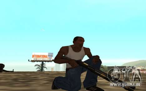 Golden weapon pack pour GTA San Andreas quatrième écran